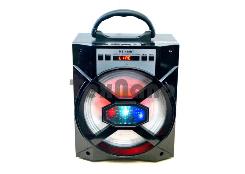 MS-155BT Колонка с USB+SD+радио+Bluetooth
