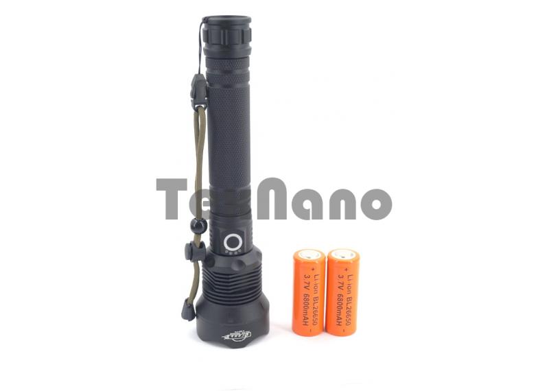 H-633-P70 Ручной аккумуляторный фонарь с зумом