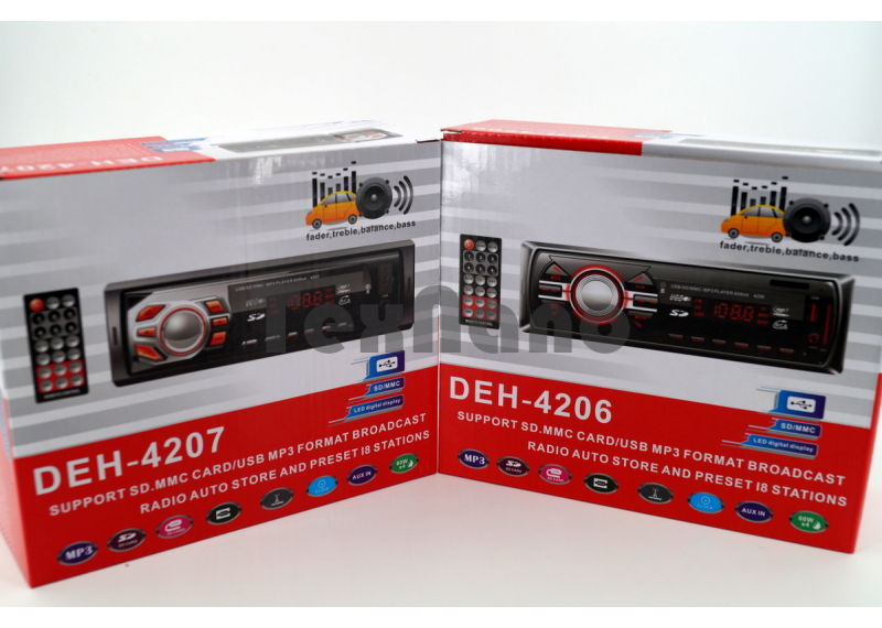 DEH-4206/4207 Магнитола+USB+AUX+Радио