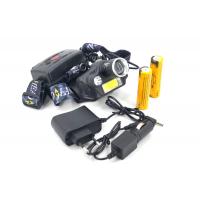 H-T495 COB+LED Аккумуляторный налобный фонарь с зумом