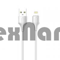 """LS541 USB Кабель iPhone (Силиконовый) """"LDNIO"""" 2.1A 1000mm"""