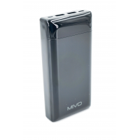 MB-200 MIVO 20000mAh Power Bank 2 USB/LED Дисплей/2.1A