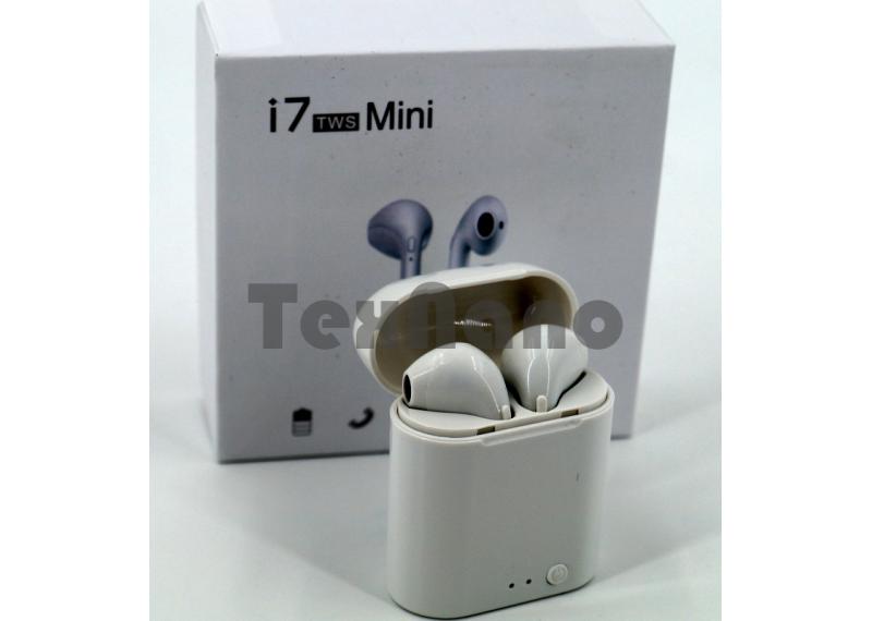 i7 TWS Mini Беспроводные наушники совместимы с Android/ iOS