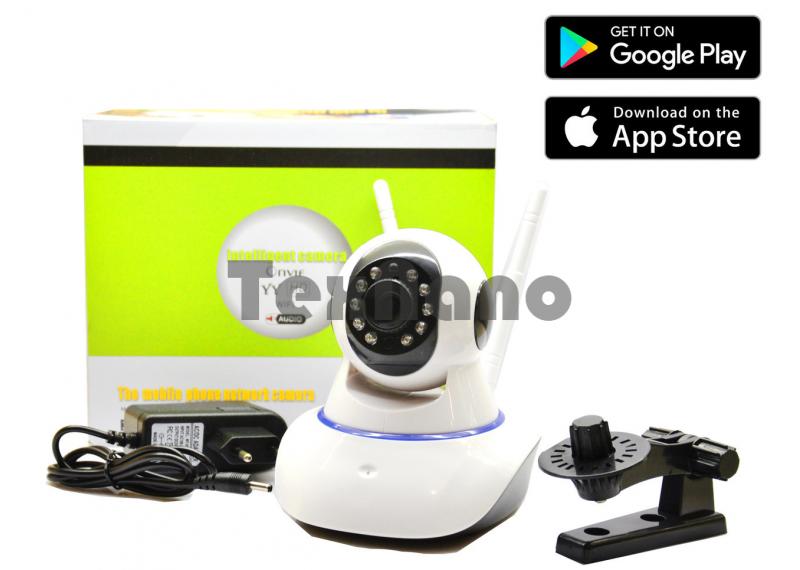 YYR100-XF+  Поворотная IP WiFi  Камера с двумя антеннами , видео няня