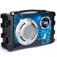 BT-1728  Колонка с USB+SD+радио+Bluetooth