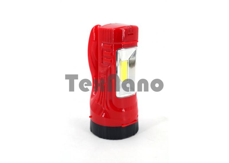JK-641 1LED+COB Ручной Аккумуляторный фонарь