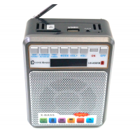 """LB-A56FM Радиоприёмник с USB флеш проигрывателем """"Luxe Bass"""""""