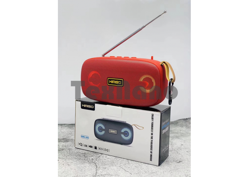 KMS-305 Колонка с Bluetooth, USB/SD/FM/LED Подсветка