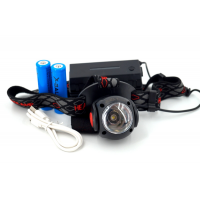 BL-K88-T6 Аккумуляторный налобный фонарь LED+COB