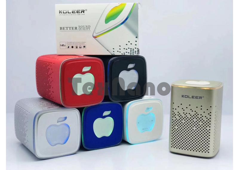 S818 Колонка с Bluetooth, USB/SD/FM/LED Подсветка
