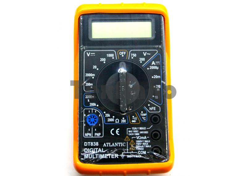 DT-838 В чехле. Мультиметр