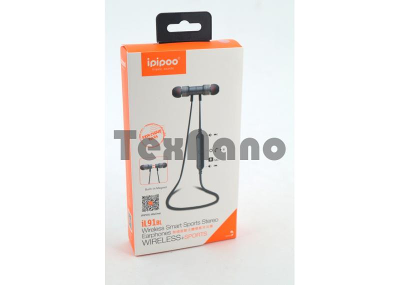 iL91BL Наушники с Bluetooth ( Магнитные)