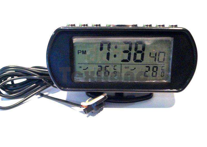 KS357-3 Часы с подсветкой, с выносным датчиком температуры