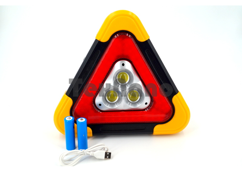 XF-8809 Аккумуляторный автомобильный фонарь/стоп сигнал/SOS