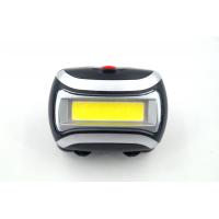 YT-H758 Налобный фонарь COB, работает от трех батареек АА