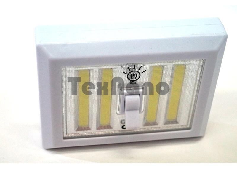 YD-1011 COB Фонарик на магните в виде выключателя