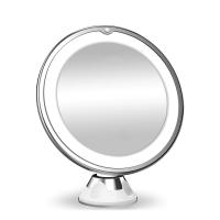 YJ-1361 Косметическое зеркало с подсветкой, увеличение 10 крат