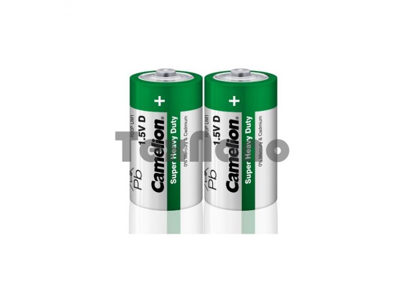Батарейка Camelion R20 SR-2 (R20P-SP2G,1.5В) (12/144)