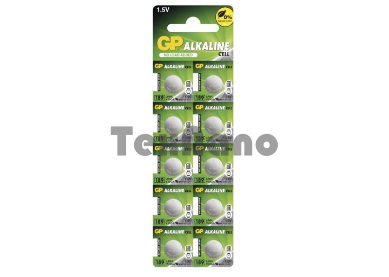 AG10 Батарейка GP LR54 (AG10) GP189FRA-2C10 (250/5000)