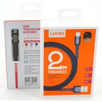 "LS64 USB Кабель Android  ""LDNIO"" 2.4A/ 2000mm"