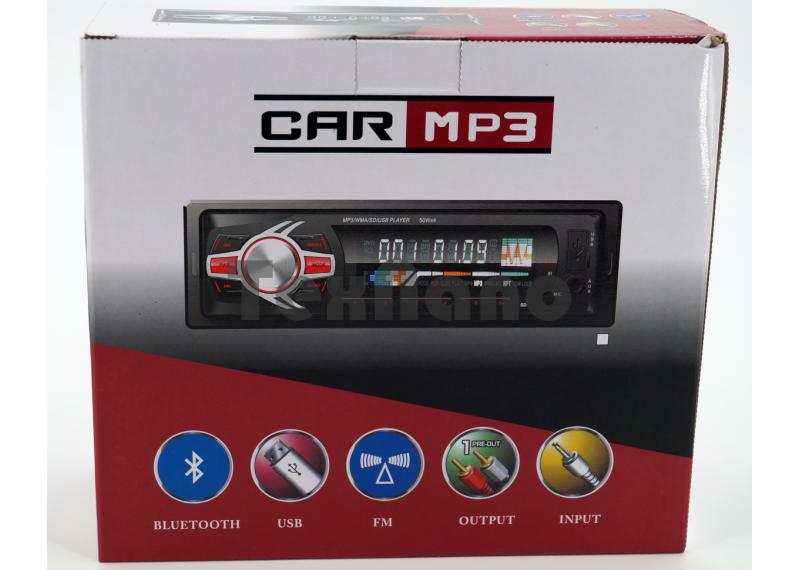 6090BT Магнитола+Bluetooth+USB+AUX+Радио