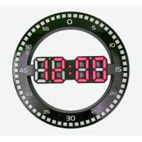 DS-3668L-1(красные) Электронные настенные, настольные часы/будильник/температура/дата