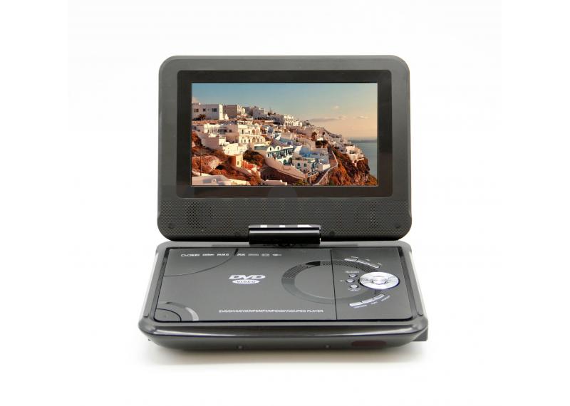 DVD-LS718T2 (7089T2) Портативный DVD плеер с цифровым тюнером. Экран: 7.5''