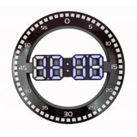 DS-3668L-5(белые) Электронные настенные, настольные часы/будильник/температура/дата