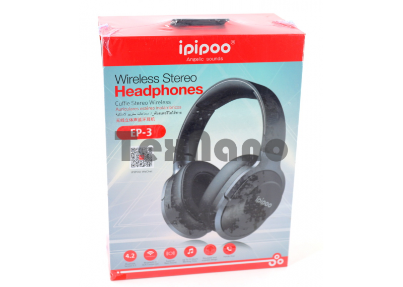 EP-3 iPiPoo Беспроводные наушники Bluetooth/FM/SD