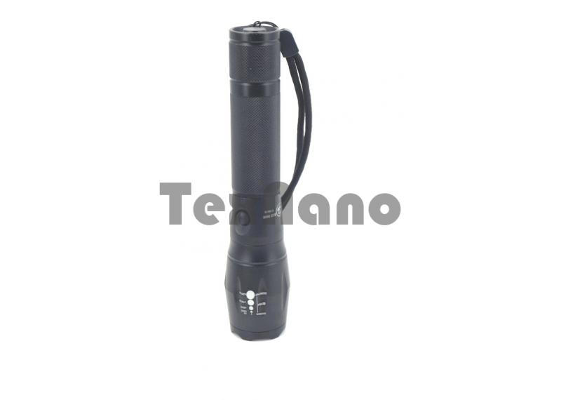 YY-7004-T6  Аккумуляторный ручной фонарь с зумом