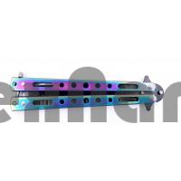 AC-K05 Тренировочный ножик бабочка (Расческа) 22 см