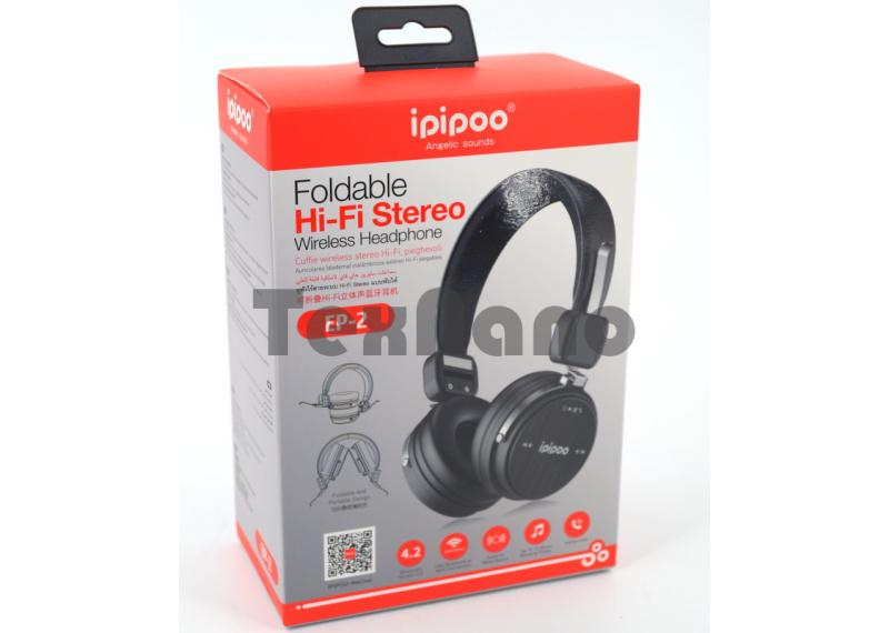 EP-2 iPiPoo Беспроводные наушники Bluetooth/FM/SD
