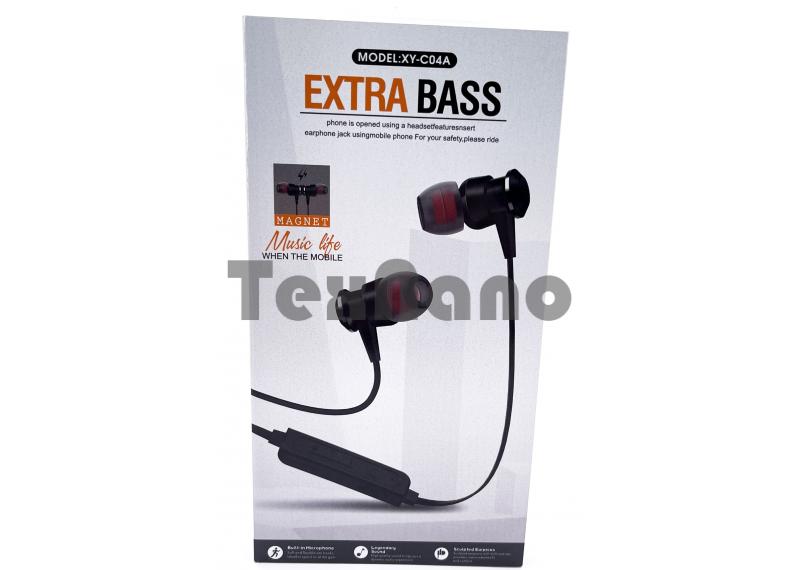 XY-C04A Наушники с Bluetooth/TF ( Магнитные)