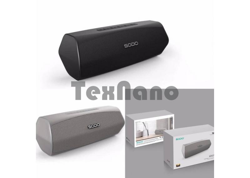 SODO L6 Колонка с Bluetooth, USB/SD/FM