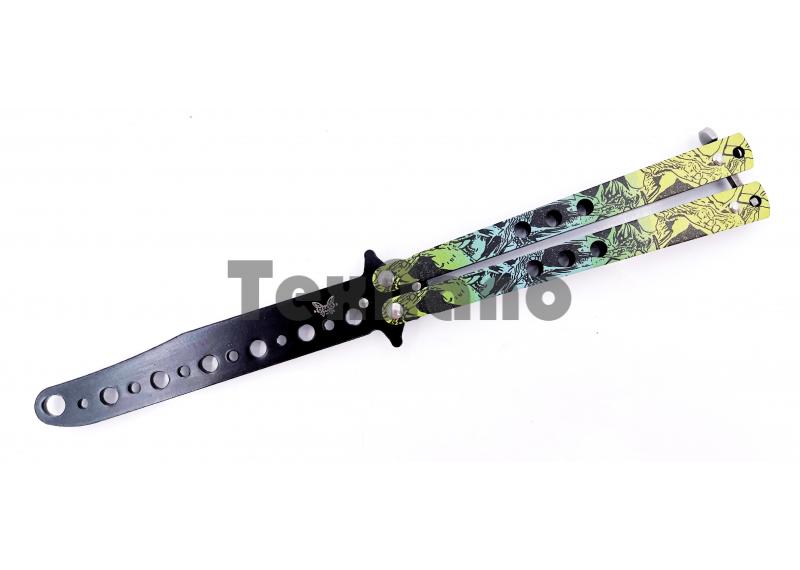 AC-K27A Тренировочный ножик бабочка (22 см)