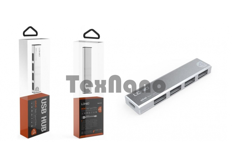 """USB HUB 2.0 4 Ports """"LDNIO"""""""
