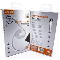 """LS552 USB Кабель Micro (Силиконовый) """"LDNIO"""" 2.4A 2000mm"""