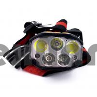 HT-841 LED+COB С датчиком движения, Аккумуляторный налобный фонарь