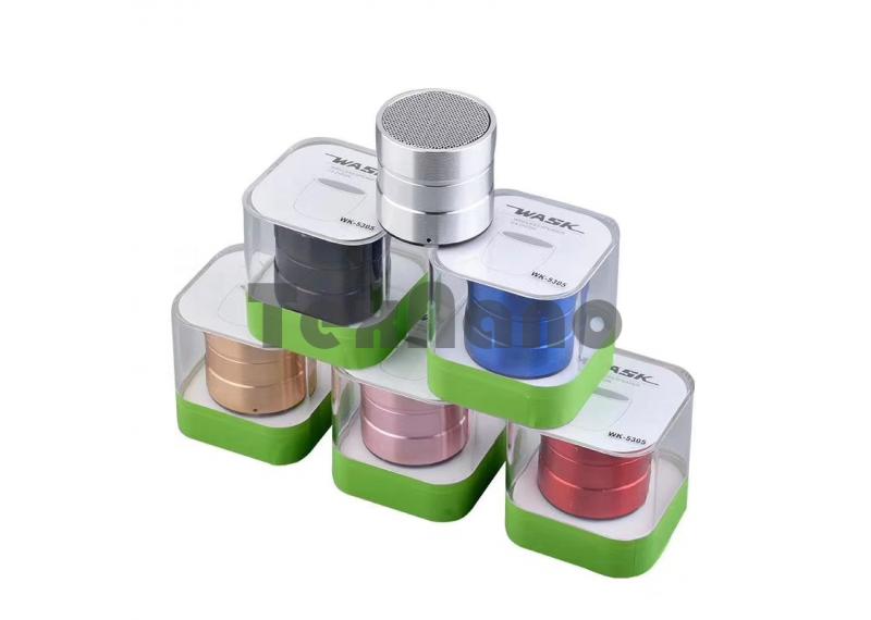 WK-5305 TWS Bluetooth Колонка (1+1 Две колонки работают одновременно)