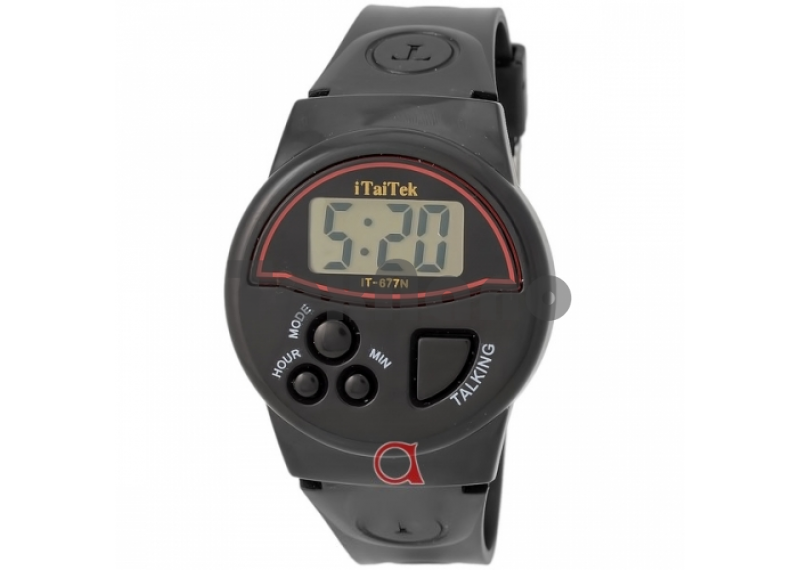 IT-677N Наручные Электронные Говорящие часы ( Для слепых )