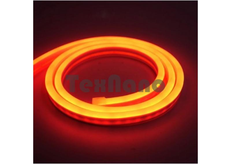 Светодиодная неоновая лента 5 метров (оранжевая)