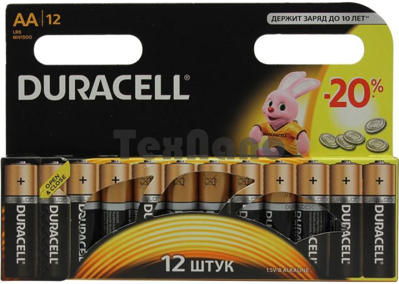 AA батарейки LR06  (12x12=144) ALKALINE