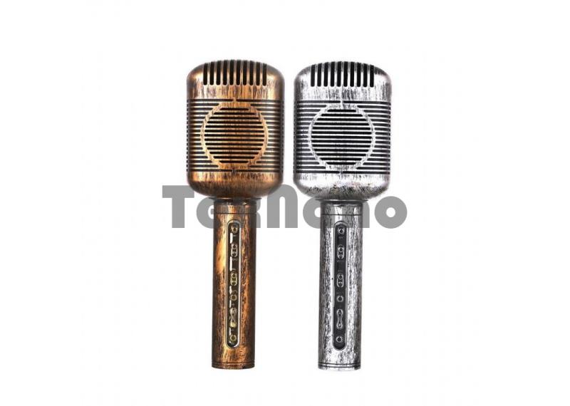 JY-51 Беспроводной караоке микрофон USB/SD/Bluetooth