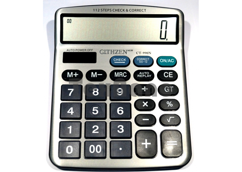 CT-990N  2 Power 12-ти разрядный калькулятор