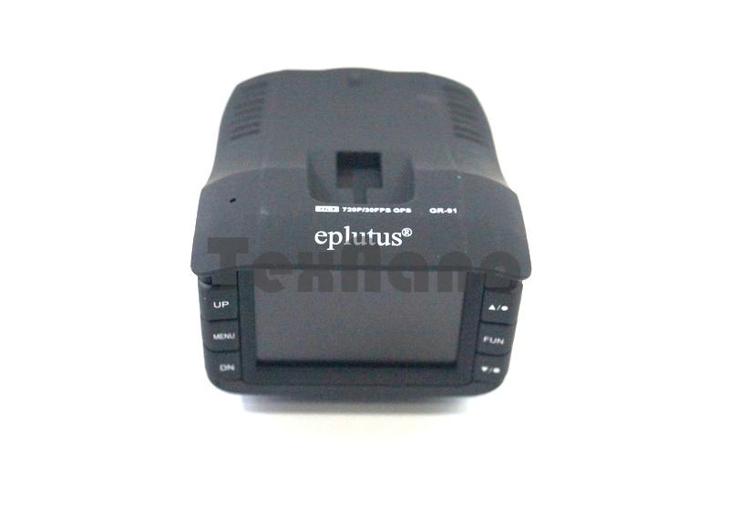 "GR-91 Видеорегистратор с радар дедектором "" Eplutus"""