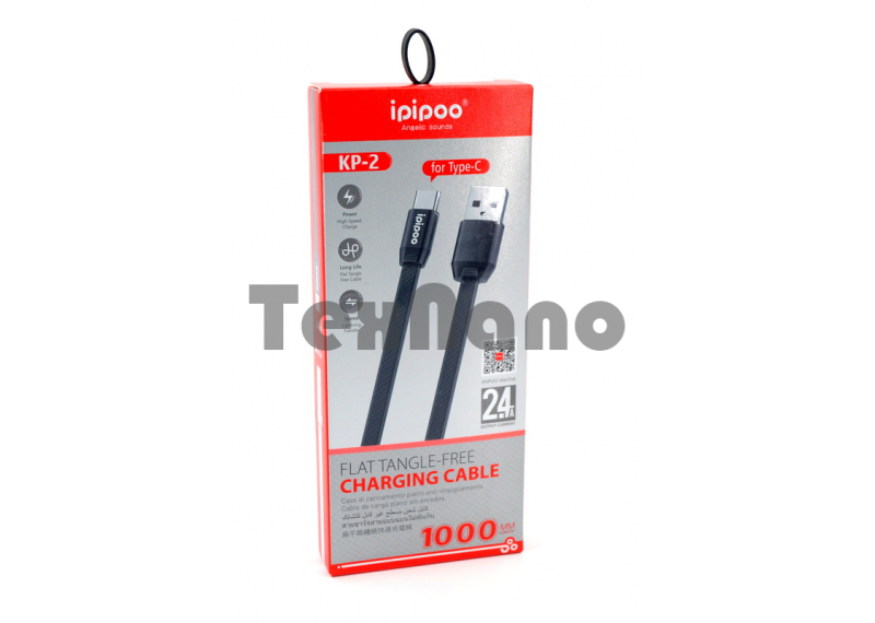 KP-2 USB Кабель Type-C iPiPoo 2.4A 1000mm