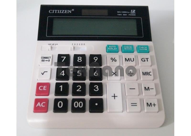 WN-120N Plus  Калькулятор 12-ти Разрядный с чеком