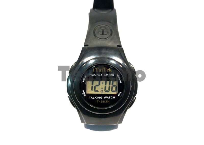 IT-663N Наручные  Электронные  Говорящие часы ( Для слепых )