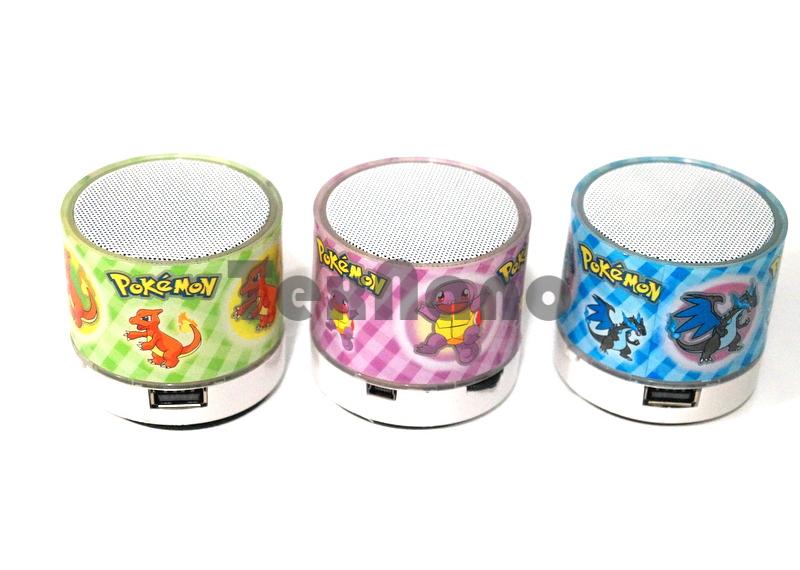 "P ""Pokemon""  Портативная колонка с FM/CD/USB/Bluetooth"