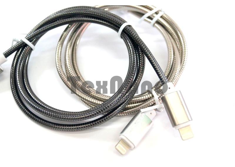 """USB кабель металлический  для iPhone 5/6 """"RG I5"""""""